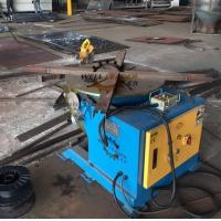 Buy cheap Welding Positioner Type Pipe flange Rotating Welding Table With Slew Bearing Oil Free Gearbox from wholesalers