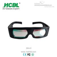 Wholesale Dolby Entertainment 3D Vision Glasses / Polarization Custom 3D Glasses from china suppliers