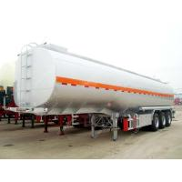 Wholesale Carbon Steel 54000 Fuel Tanker Trailer For Palm Oil Transportation from china suppliers