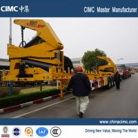 Wholesale tri-axle 40ft container side lifter with 37 tons load capacity from china suppliers