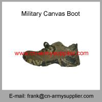 China Wholesale Cheap China Military Light Weight Army Police Training Canvas Shoes on sale