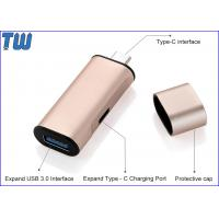 Wholesale Mini Slim USB 3.1 Type-C Hub Sync Data Transfer and Charging from china suppliers