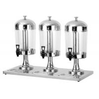 Quality 8L Per Tank Catering Buffet Equipment  Ice - Cold Style Stainless Steel Drink Dispenser for sale