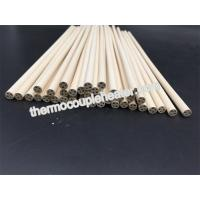 Wholesale 98.3---99.9% MgO Magnesia ceramic pipes tubes pin rod for cartridge heater from china suppliers