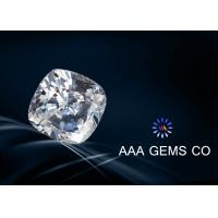 Wholesale Super Colorless Moissanite , Cushion Cut Moissanite In Size 6.5mm from china suppliers