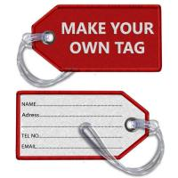 Wholesale DIY Make Your Own Tag Embroidered Luggage Tag from china suppliers