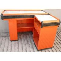 Wholesale Simple Design Iron Cash Register Table Counter Custom Retail Counters from china suppliers