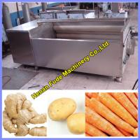 Wholesale ginger cleaning and peeling machine from china suppliers