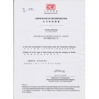 XINDA MACHINERY CO.,LTD Certifications