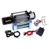 Wholesale 9500lb Electric ATV Winch , 12 Volt Electric Winch Remote Control from china suppliers