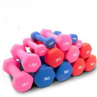 Wholesale Fitness Exercises Hand Weight Hex Neoprene Dumbbell For Women from china suppliers