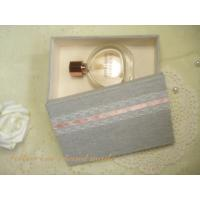 Wholesale Gray Cardboard Perfume Gift Box / Perfume Paper Box Packaging from china suppliers