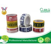 Wholesale Customized Carton Sealing Water Glue BOPP Packing Tape With Label from china suppliers