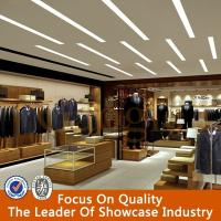 Wholesale Retail New Style Menswear Garment Shop Interior Gesign from china suppliers