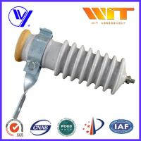 Wholesale 51KV Power Station Porcelain Substation Surge Lightning Arrester High Reliability from china suppliers
