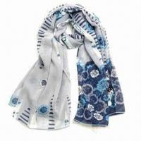 Wholesale Fashionable 100% Silk Scarf for Ladies, Soft, Comfortable and Elegant Design, Ideal for Gifts from china suppliers