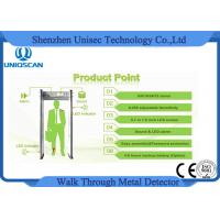 Wholesale 0-255 Sensitivity multi zones walk through metal detector , security walk through gate from china suppliers