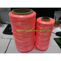 Wholesale One Wire Fluorescence Binder Polypropylene Twine , Polypropylene Tying Twine from china suppliers