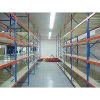 Long Span Pallet Industrial Racks And Shelving Middle Duty Assembled Structure