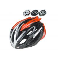 Wholesale Custom Safety Adult Bicycle Helmet Red Three Sizes Antibacterial Pad from china suppliers