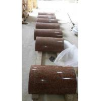 Wholesale G562 Granite Column Crown Red Granite Roman Columns China Capao Bonito Granite Columns from china suppliers