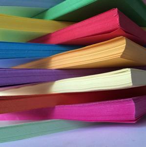 Wholesale Orange / Purple DIY Handmade Paper Handmade Chart Paper 76cm * 104cm from china suppliers