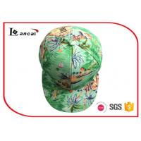 Wholesale 6 Panel  Polyester  Baseball Caps Hats,Tropical Style Ball Caps from china suppliers