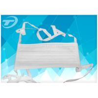 Wholesale Disposable  face mask 3 ply tie - on with different color,made of NOn-woven fabric from china suppliers