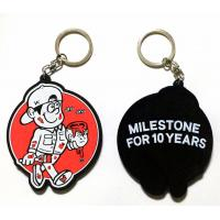 Buy cheap Custom soft PVC rubber keychains for promotional gifts by China manufacturer from wholesalers