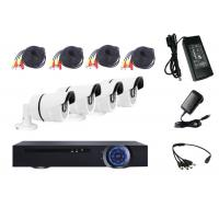 Wholesale 1.3 Megapixel HD DVR Kit Indoor Bullet Camera System Support VGA / HDMI from china suppliers