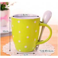 Wholesale Creative mug ceramic red blue yellow cup from china suppliers
