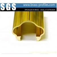 Wholesale Brass Extruding Handrailing / Brass Stair Handrails for Constrution Design from china suppliers