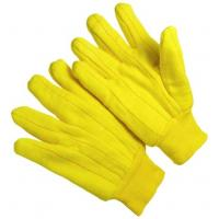Wholesale 13 Gauge Heavy Weight Golden Chore seamless  Cotton Work Glove CT103 from china suppliers