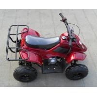 Wholesale Air Cooled 4 Stroke 110cc Four Wheeler , Chain Drive Youth ATV Racing from china suppliers