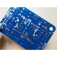 Buy cheap 3 OZ Copper Double Sided Power PCB on 1.6mm FR4 With HASL for Blue soldermask from wholesalers
