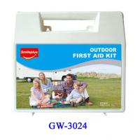 Wholesale Middle size Plastic First Aid Box for Kids , Outdoor , Home , Pets , Office from china suppliers