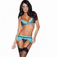 Wholesale Blue Lagoon Sexy Underwear Set, Includes G-string from china suppliers