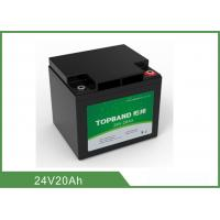 Wholesale Camping Rechargeable Power Supply , Battery Pack For Camping 24V 20Ah from china suppliers