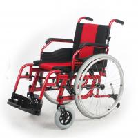 Wholesale Stable Adult Custom Manual Wheelchair Rental Red Frame 510 MM Seat Width from china suppliers