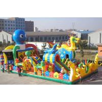 Wholesale Inflatable Russian Dragon Palace, Inflatable Children Fairground from china suppliers