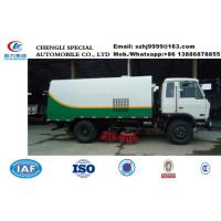 Wholesale new good performance dongfeng 4*2 LHD road sweeper truck for sale, HOT SALE! new style street cleaning vehicle from china suppliers