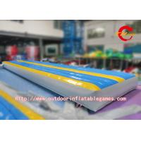 Wholesale Gymnastics Inflatable Air Tumble Race Track / Inflatable Sport Games Go Kart Track from china suppliers