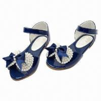 Wholesale Girls' Queen Sandals with Pearls Accessories in Upper from china suppliers