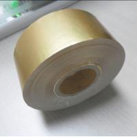 Quality China manufacturer cigarette wrapping metallized gold aluminum foil laminated paper for sale