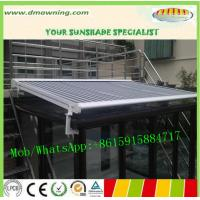 Wholesale conservatory awning, Chinese glass room top awning, full cassette awning from china suppliers