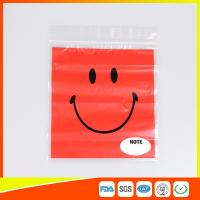 OEM Custom Printed Ziplock Bags Plastic Grip Seal Poly Bag With Heat Seal