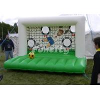 Wholesale 0.55mm PVC Tarpaulin Material Inflatable Football Goal For Fun With Ce Approved from china suppliers