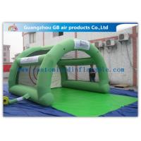 Wholesale Green Paintball Enclosures Durable Inflatable Sports Dome Tent for Interactive Sports from china suppliers