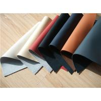 Wholesale 7 Colors Recycled Leather Fabric Cow Real Leather Upholstery Fabric from china suppliers