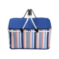 Wholesale 32L Travelling Outside Lunch Insulated Cooler Bags Foldable With Aluminum Frame from china suppliers